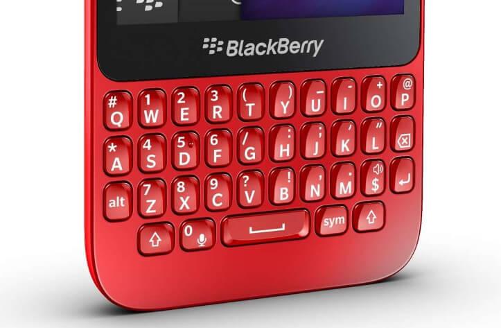 BlackBerry Q5 klavyesi