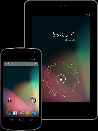 Android kitKat'tan önce JellyBean sürümü vardı.