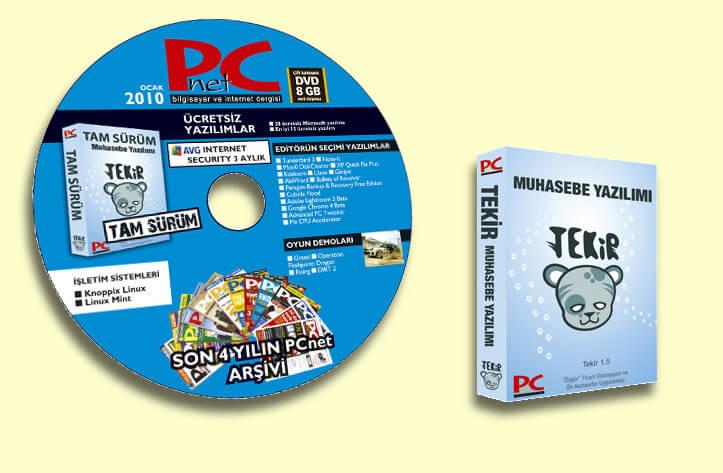 PCnet dergisi ile Tekir Kurulum CD'si dağıttık