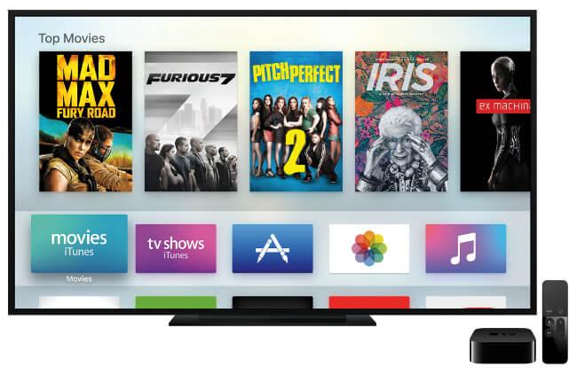 Apple TV'nin işletim sistemi, iPhone 6S ile aynı kod tabanını kullanıyor