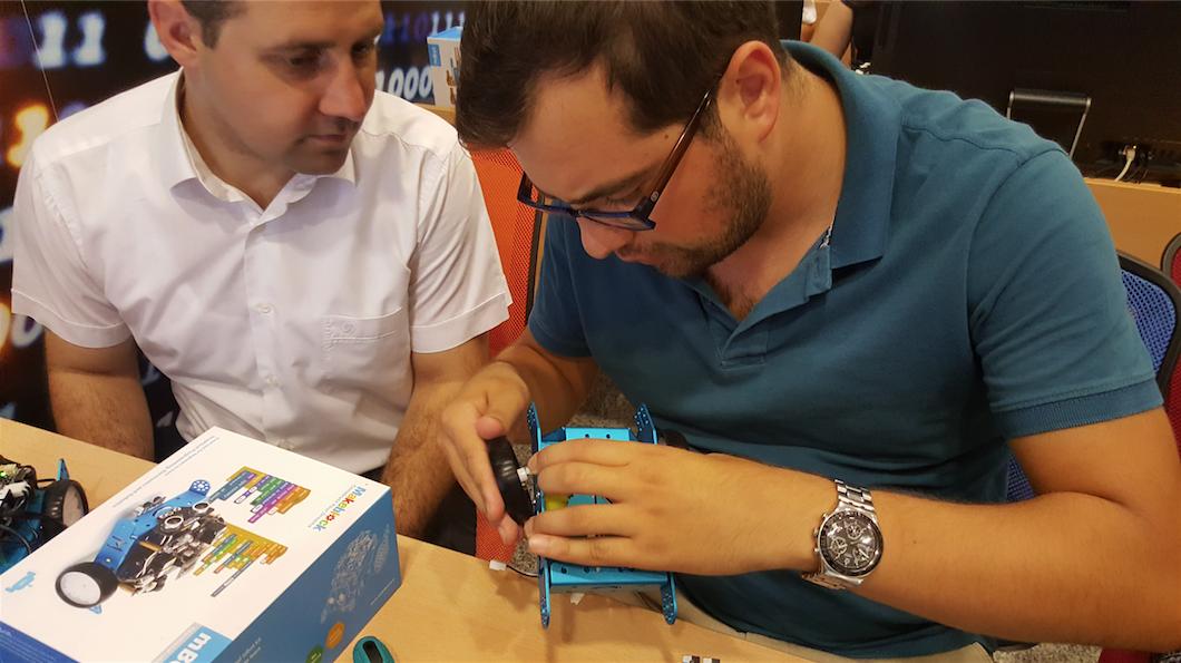Kültür Koleji öğretmenleriyle mBot eğitimi