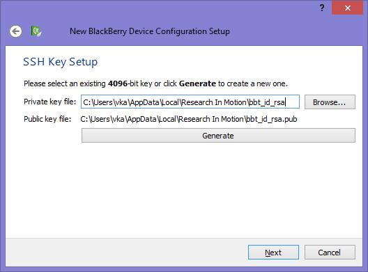 Resim 9 – SSH Key Setup