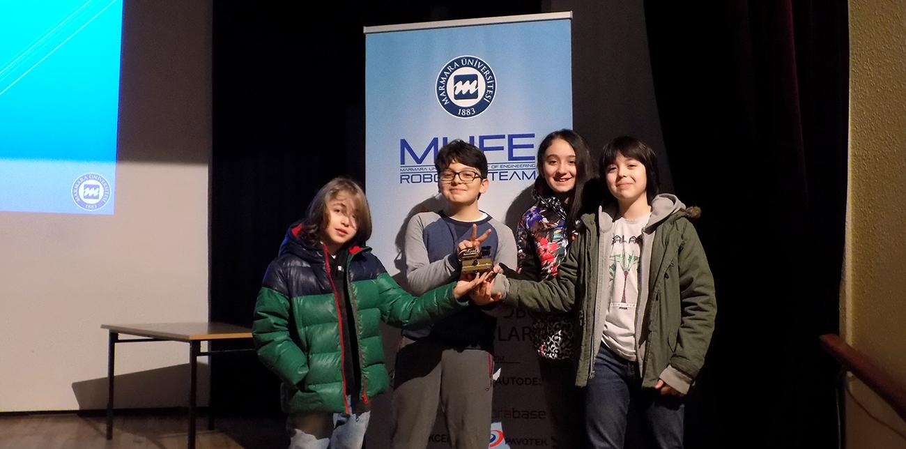 İTA Okulları Mini Sumo takımı, MUFE Robotics'te