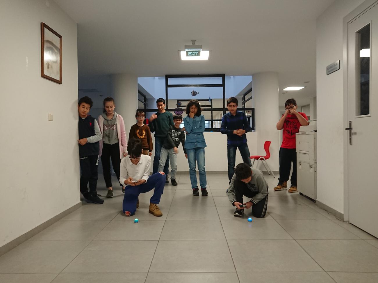 Trabzon Faruk Başaran BİLSEM'deki Sphero Eğitimimiz