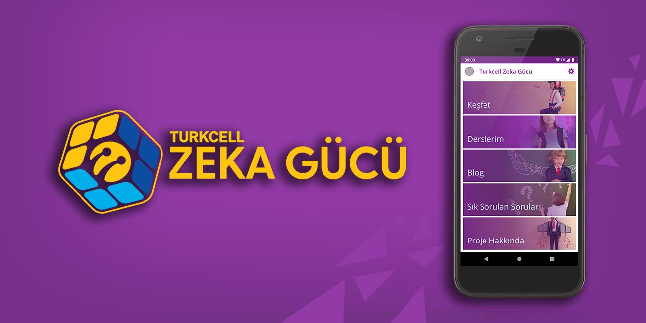 Zeka gücü Projesi için hazırladığımız Open edX mobil uygulaması