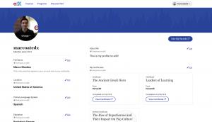 Open edX Juniper sürümünde profil sayfaları büyük bir değişime uğradı.
