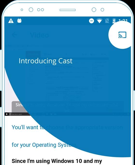 Open edX Juniper mobil uygulama sürümleri artık Chromecast özelliğine sahip.