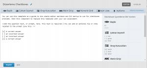 Open edX Juniper sürümünde editör