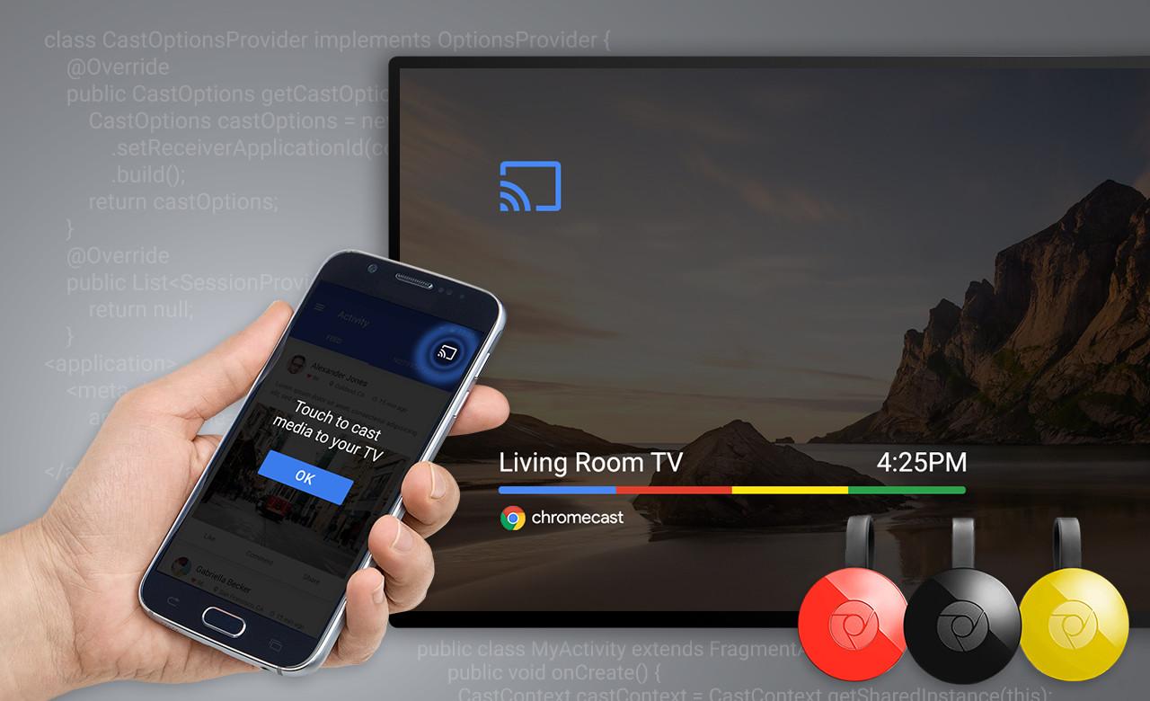 Chromecast destekli ekranlar sayesinde artık küçük ekranlara mahkum değiliz.